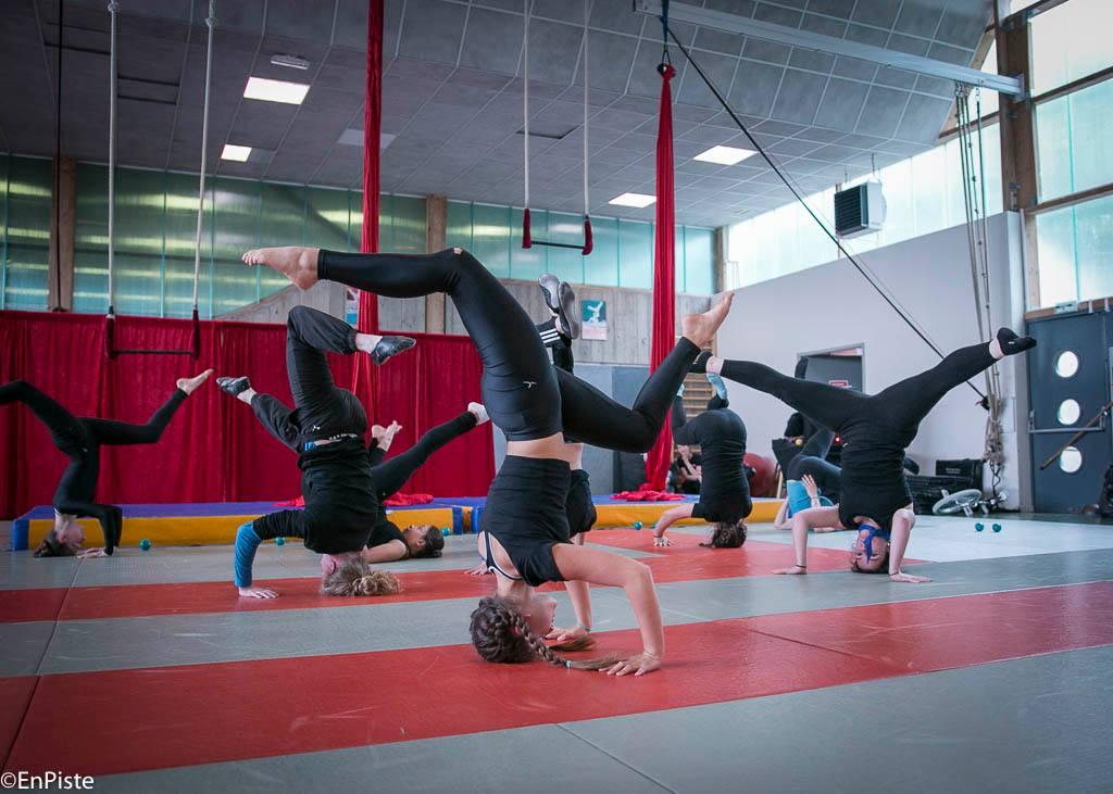 Stage de cirque pour les 7-16 ans à Cesson-Sévigné, Rennes Métropole