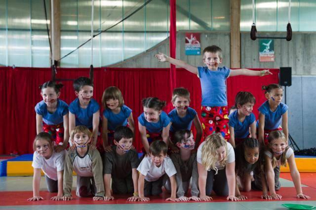 Stage de cirque pour les 4-6 ans à Cesson-Sévigné, Rennes Métropole