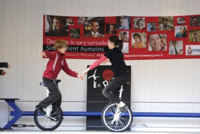 Animation cirque - - école de cirque En Piste - Cesson-Sévigné - Rennes Metropole
