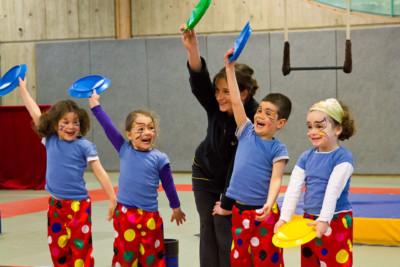 Stage de cirque, hiver 2013 - école de cirque En Piste - Cesson-Sévigné - Rennes Metropole