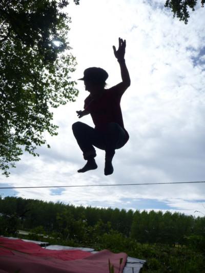 Cirque perché - école de cirque En Piste - Cesson-Sévigné - Rennes Metropole