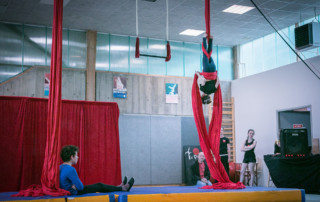 Spectacle de fin d'année 2016 - école de cirque En Piste - Cesson-Sévigné - Rennes Metropole