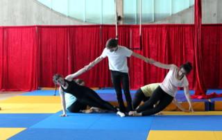 Spectacle de fin d'année 2017 - école de cirque En Piste - Cesson-Sévigné - Rennes Metropole