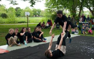 En Piste ! fait son festival, 10 ans de l'école de cirque de Cesson-Sévigné